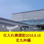 副業せどり仕入れ実践記 ~2018.8.18北九州編~